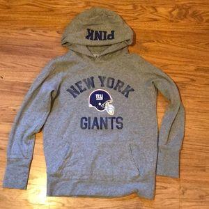 Pink New York Giants Hoodie